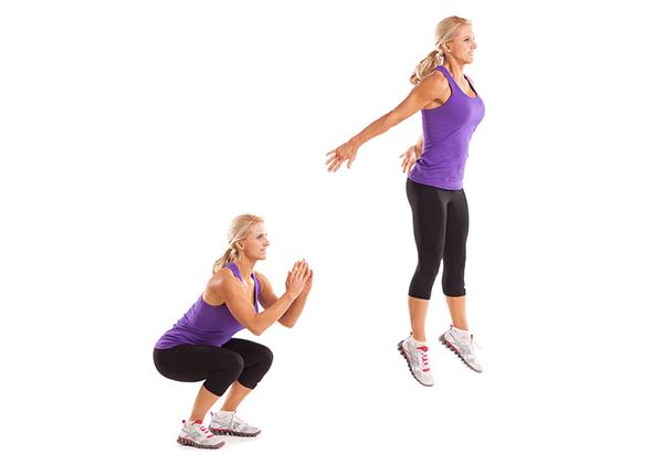 Jump-squat-exercise