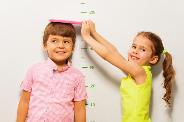 height and weight chart in kg